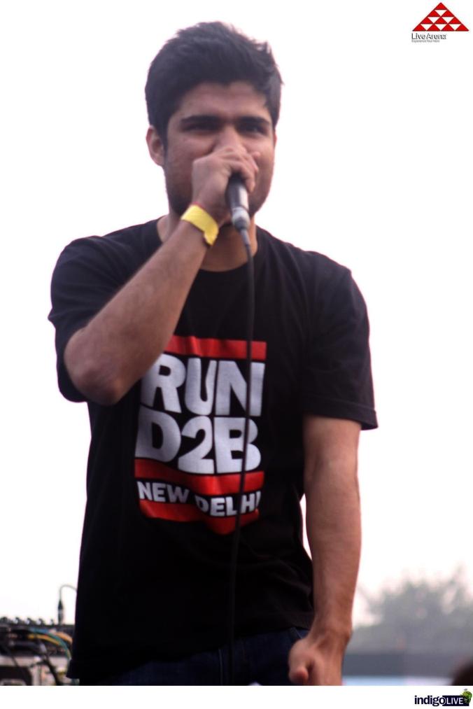 opening @ Smoke Jam at Snoop Dogg New Delhi Concert 2013
