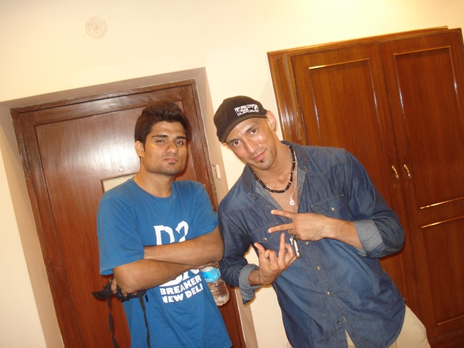 With Legendary Bboy Gadget of the Boogie Brats Crew 2011