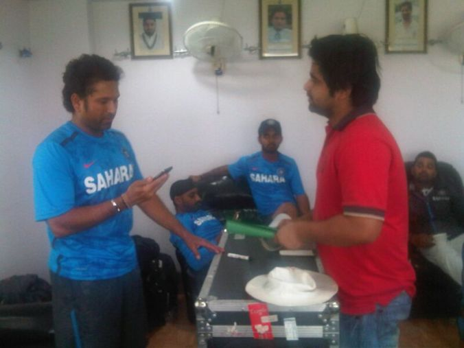 Sachin - the narration of fan commenced