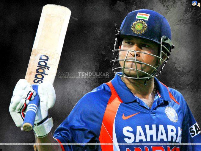 Sachin :100 centuries to the master