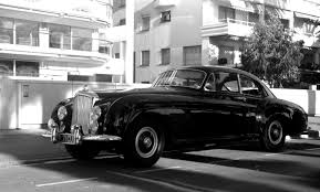 Bond's car, mark II continental bentley