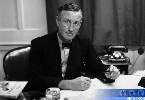 Ian Fleming,at work