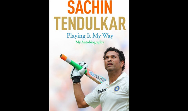 sachin tendulkar autobiography : playing it my way